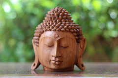 Buddha zen głowa Zdjęcia Royalty Free