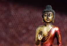 Buddha-Zenstatue Lizenzfreie Stockbilder