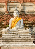 Buddha-Ziegelstein stockfoto