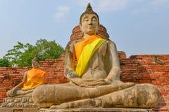 Buddha-Ziegelstein lizenzfreie stockfotografie