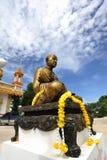 Buddha zrobił mosiądz. zdjęcie stock