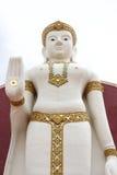 Buddhabild i Ayutthaya Royaltyfria Bilder