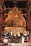 Buddhabild i den Todai jien, Nara Fotografering för Bildbyråer