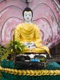 Buddhabild i Myeik, Myanmar Arkivfoto