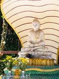 Buddhabild i Yangon, Myanmar Royaltyfria Bilder