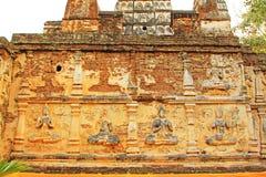 Buddhabild på Wat Jed Yod, Chiang Mai, Thailand royaltyfria foton