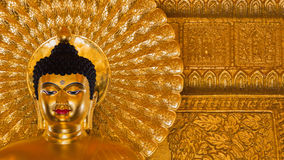 Buddhabild som används som amuletter av buddismreligionen Arkivbilder