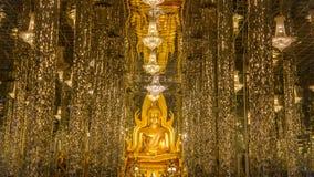 Buddhabild Thailand Uthai Thani Wat Tha Sung Royaltyfri Fotografi
