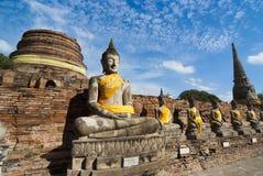Buddhabilder Arkivfoto