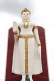 Buddhabildställning i Thailand Fotografering för Bildbyråer