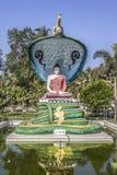 Buddhadiagram Arkivfoton