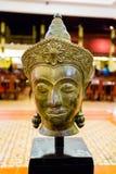 Buddhaframsida i Cambodja Royaltyfri Foto