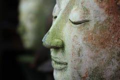 Buddhaframsidasida Arkivbild