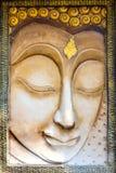 Buddhaframsidaskulptur Arkivfoto