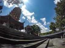 Buddhagaya-Tempel in Semarang, Jawa Tengah, Indonesien lizenzfreie stockbilder