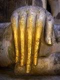 Buddhahand ner Fotografering för Bildbyråer