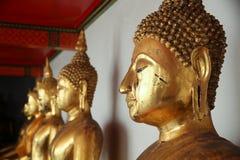 Buddhahuvud Arkivbild