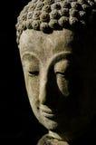 Buddhahuvud i ljus Royaltyfri Fotografi