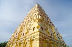 Buddhakaya Chedi Fotografie Stock