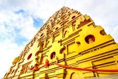 Buddhakaya Chedi a Sangkhla Buri Kanchanaburi, Tailandia Fotografia Stock