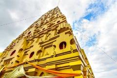 Buddhakaya Chedi a Sangkhla Buri Kanchanaburi, Tailandia fotografie stock