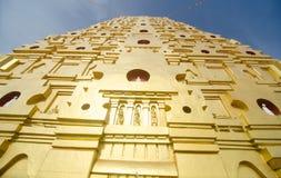Buddhakaya Chedi, Sangklaburi Immagine Stock Libera da Diritti
