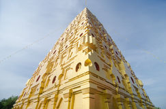 Buddhakaya Chedi Stock Photos