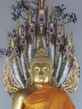 Buddhaklosterbroderstaty Royaltyfria Foton