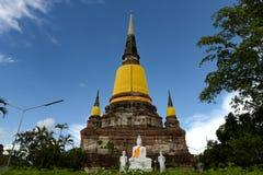 Buddhakyrka av buddistisk kultur Arkivbild