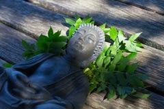 Buddhameditation Arkivfoton