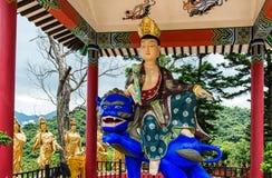 10000 buddhas寺庙 图库摄影
