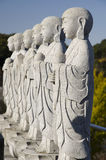 Buddhas小组 库存图片
