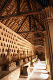 buddhas屋顶 库存照片