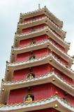 10000 buddhas的修道院在香港,中国 免版税库存照片
