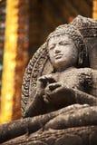 Buddhas雕象 免版税库存图片