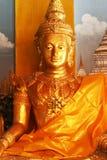 buddhas雕象 免版税图库摄影