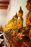 Buddhas σε Wat Po Στοκ εικόνα με δικαίωμα ελεύθερης χρήσης