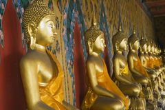 buddhas Ταϊλανδός Στοκ φωτογραφία με δικαίωμα ελεύθερης χρήσης