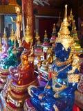 Buddhas в Чиангмае/Таиланде стоковое фото rf