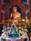 Buddhas в Чиангмае/Таиланде стоковое изображение