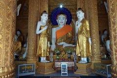 Buddhas в Kyaik чем пагода Lan стоковые изображения rf