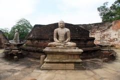 Buddhas в Vatadage стоковое изображение rf