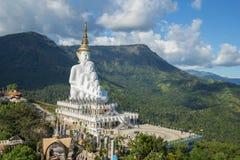 5 Buddhas на виске Kaew сына Wat Phra Thad Pha стоковые фотографии rf