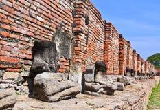 Buddhas руины стоковое фото rf