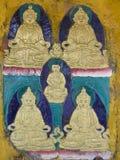 buddhas Arkivfoto
