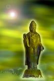 Buddhas Aufklärung stock abbildung