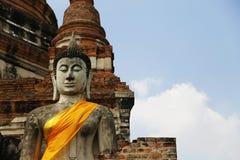 Buddhas in Ayutthaya Royalty Free Stock Images