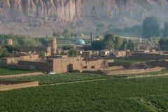 The Buddhas of Bamiyan Stock Photos