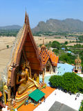 Buddhas bij de tempel Royalty-vrije Stock Foto's
