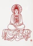 Buddhas Bild Lizenzfreies Stockbild
